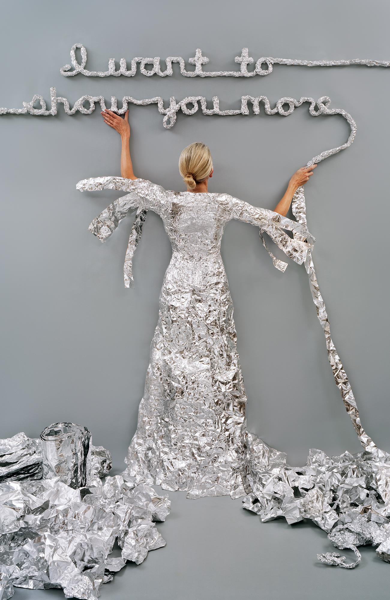 Lost in my Life (tin foil), 2012