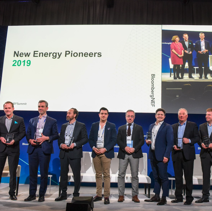 Pioneers for a New Energy Future - BLOG POSTSunfolding CEO Jurgen Krehnke's view from the BNEF New Energy Pioneer Awards in New York.