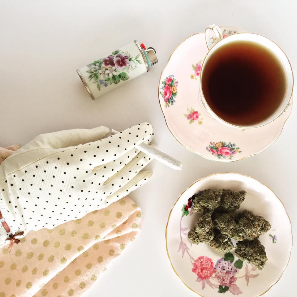 Meet the Woman Throwing Cannabis Tea Parties For a Living - POPSUGAR