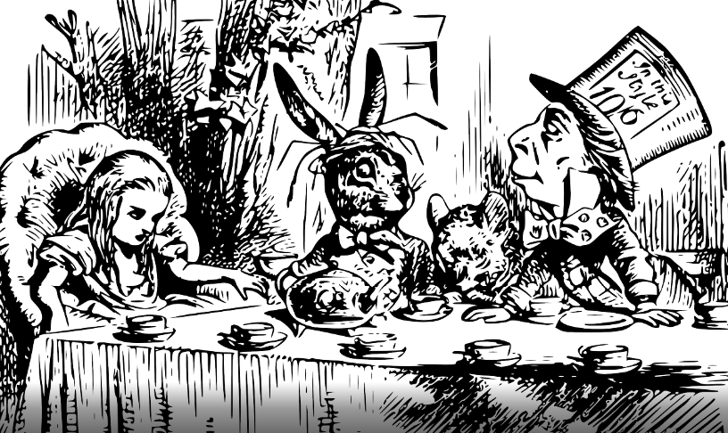 White Rabbit High Tea Party Alice Loves Being In Wonderland! - EDIBLES MAGAZINE