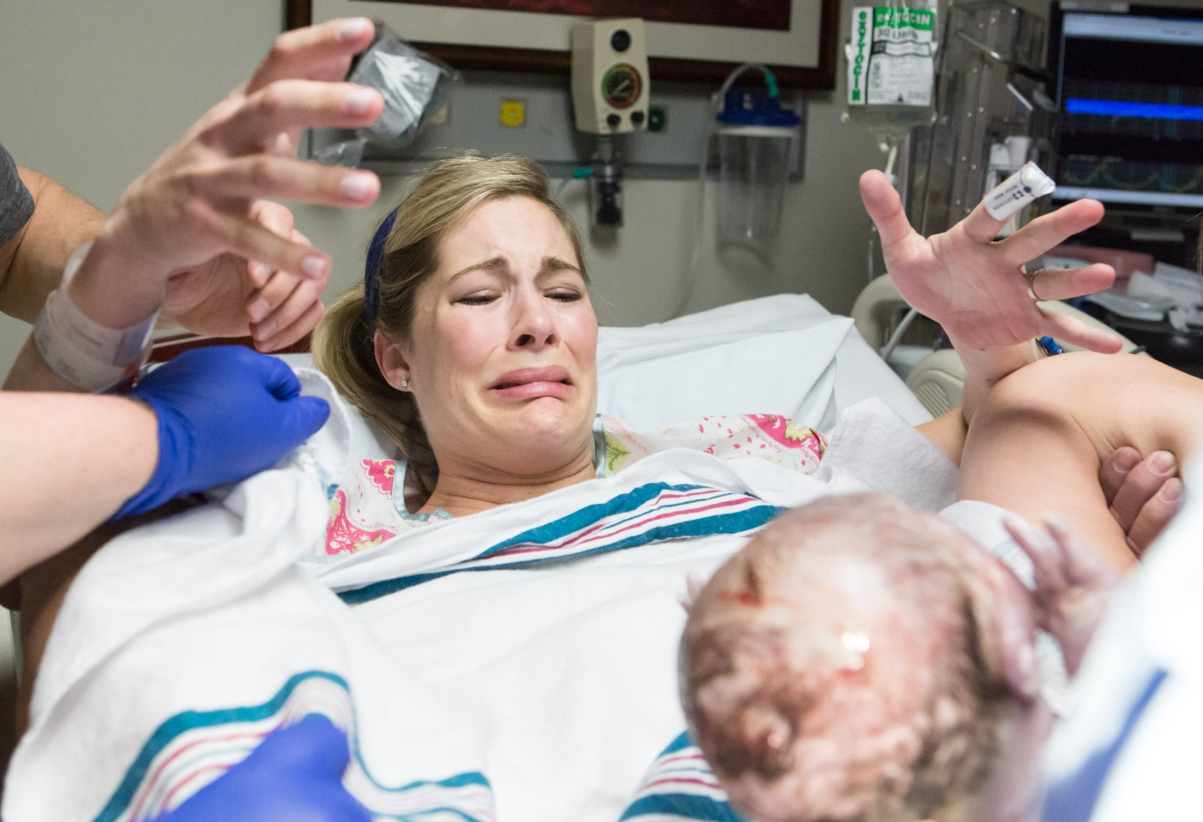 tears of joy after giving birth in jacksonville