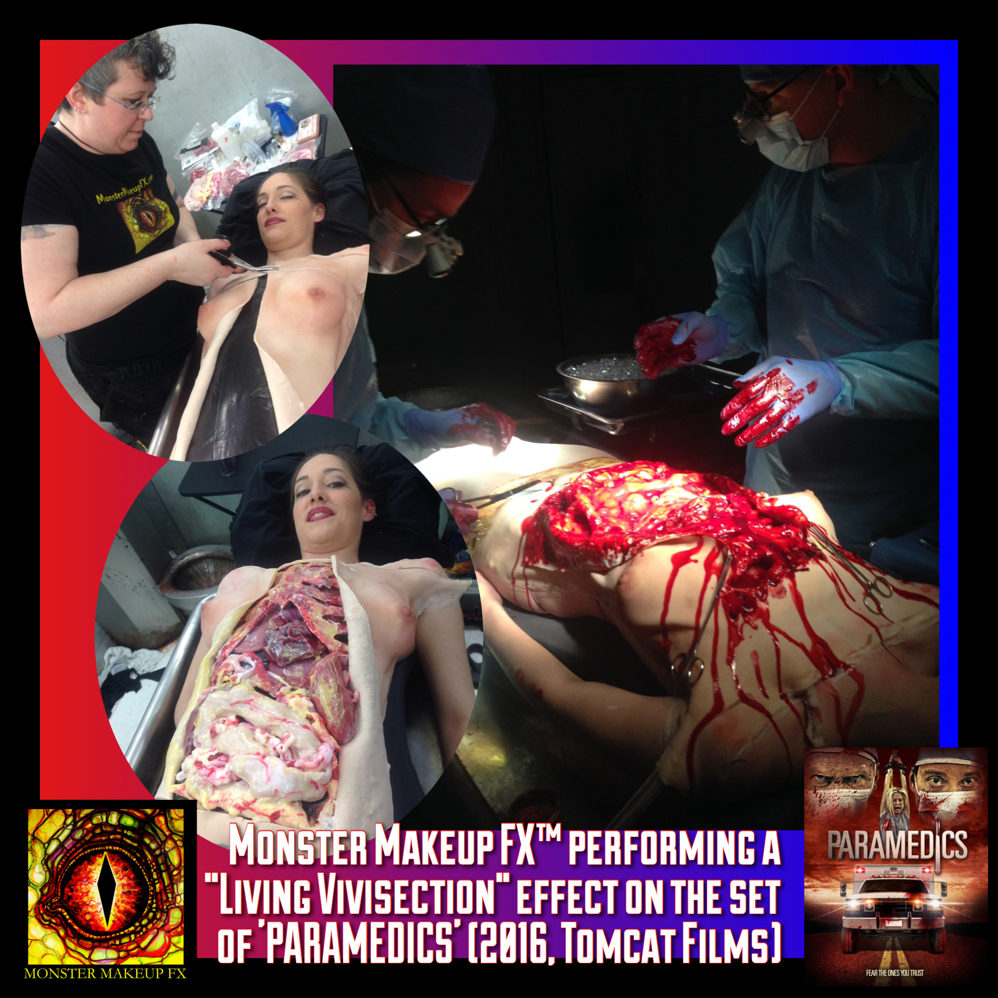 Monster Makeup FX™ Living Vivisection Special Effect for Paramedics-2016-Tomcat Films.jpg