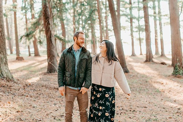 These two get married tomorrow!!!!! I'm so so excited, I can't believe it's already here! Katherine and Brennan radiated so much joy during their engagement shoot I just can't wait for tomorrow 🤗