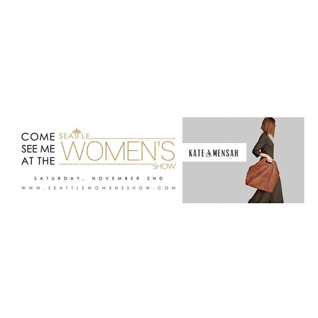 Get yourself ready for more of you!:) We're one of the 80 fabulous exhibitors at the Seattle Women's Show on Saturday, November 2nd (10am-4pm) at Women's University Club. Come see us!  Perfect time to shop for the holidays, pamper yourself and learn something new by attending the many breakout sessions and Coach's Cafe.  Tickets are only $10 and can be purchased here:  www.SeattleWomensShow.com ! #supportlocalbusinesses #leatherbags #fashiondesignerlifestyle #womenempoweringoneanother #seattle #frenchlady #uniquedesigns #qualitybags #popupshop #thankful #followus #holidaygifts #seattlewomen #fashion