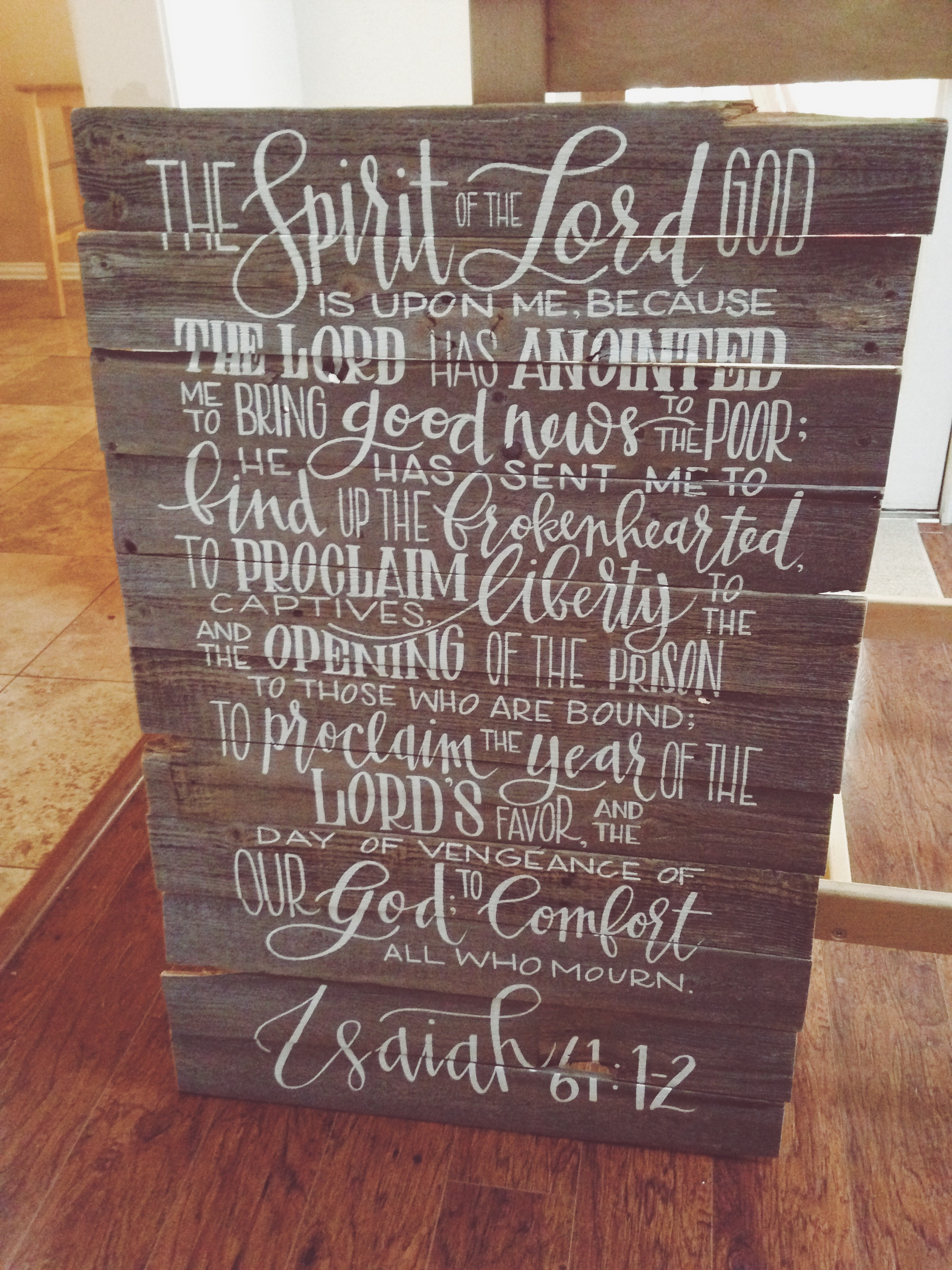 Modernly Rustic - www.modernlyrustic.com - Hand Lettered Goods in Dallas, Texas