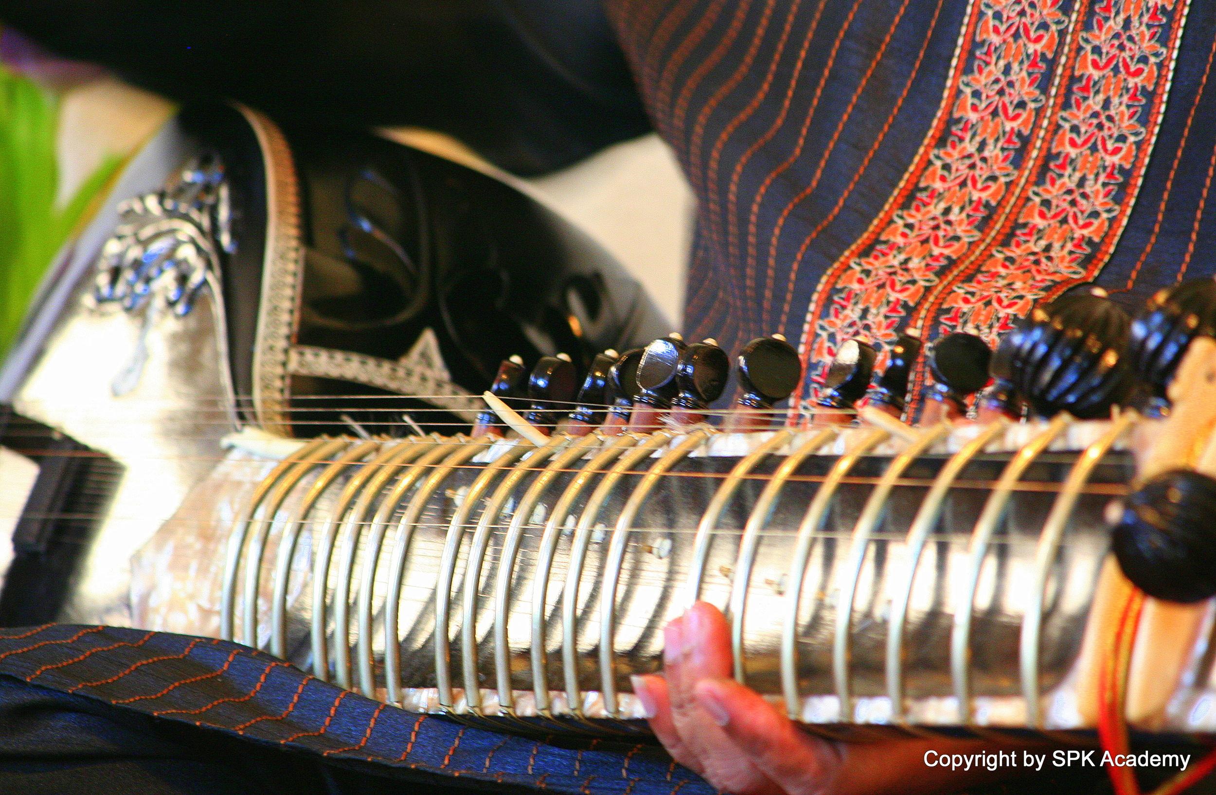 Ustadji's  sitar