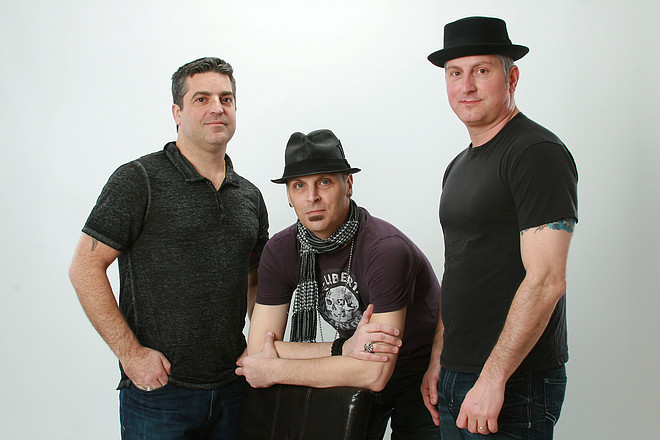 Jay with his band, Lucky13Rocks .