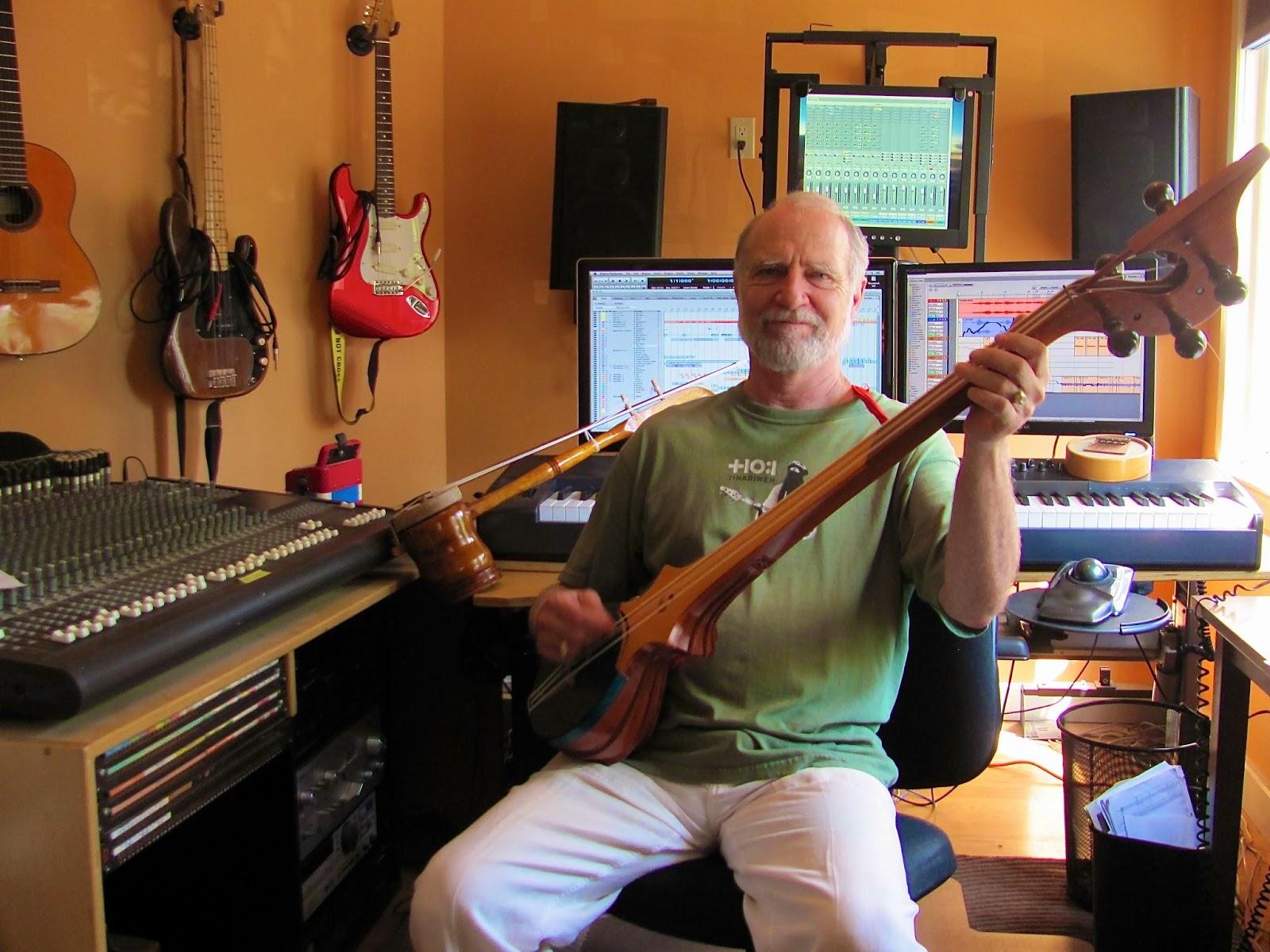 Louis in his studio.