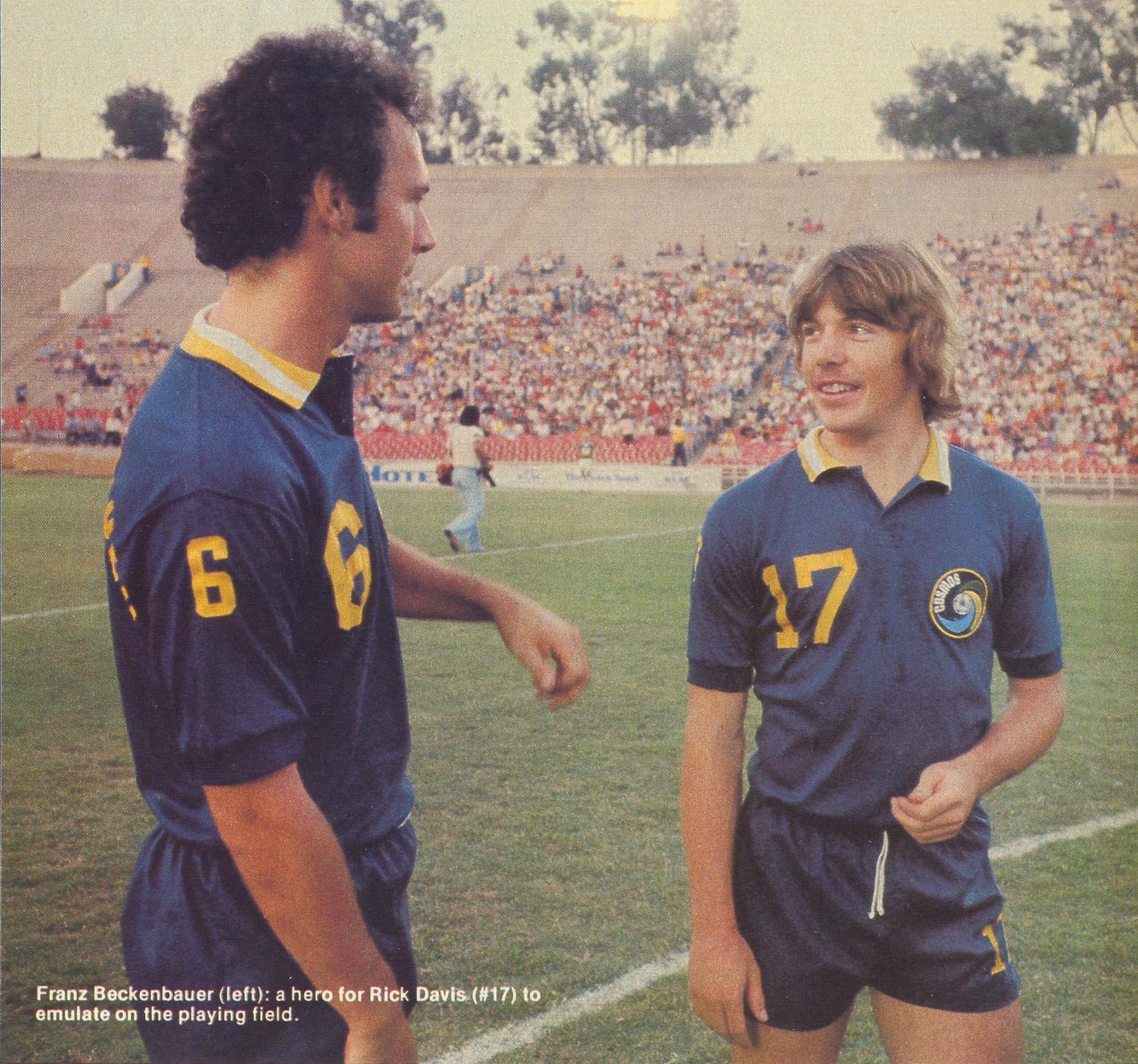 Cosmos 80 Road Franz Beckenbauer, Ricky Davis.jpg