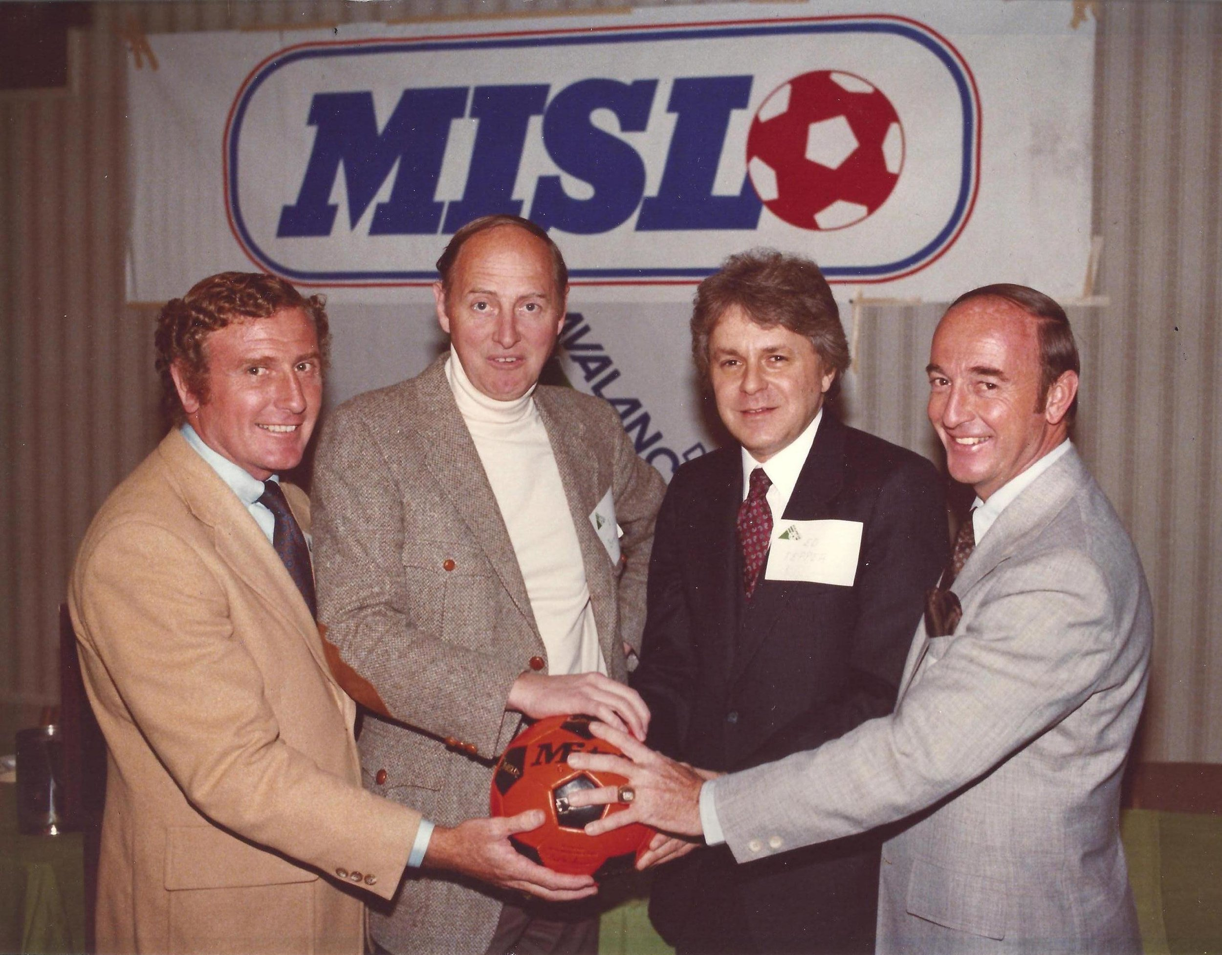 PHOTO_RONNIE AND HOWIE AND AL BRESSIE AND ED TEPPER_MISL AWARD 1980.jpg