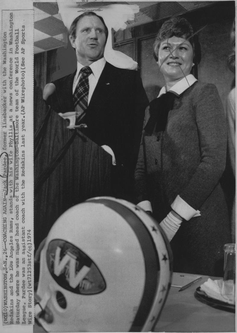 Ambassadors 74 Helmet Jack Pardee press.jpg