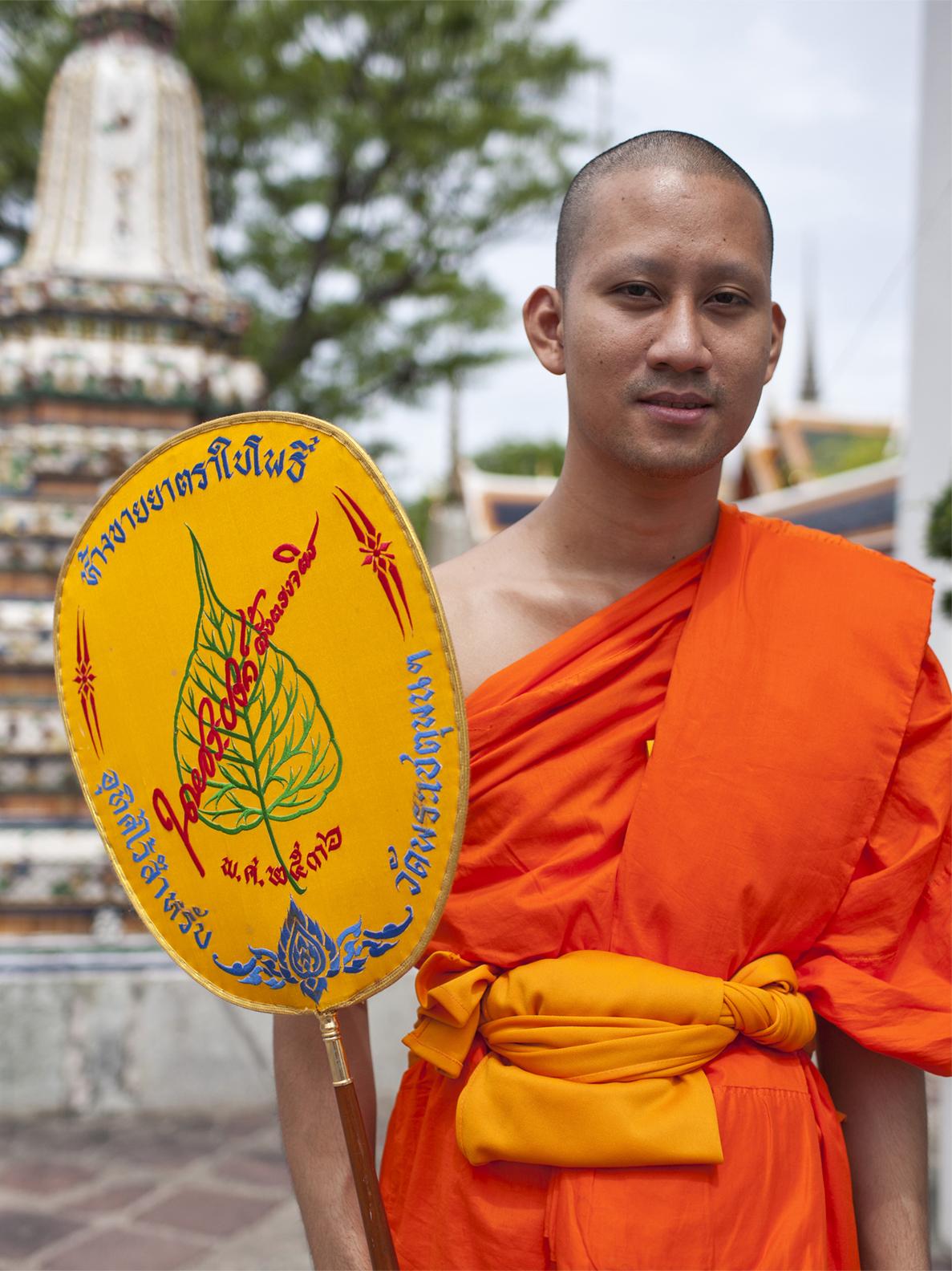 Buddhist Monk, Thailand
