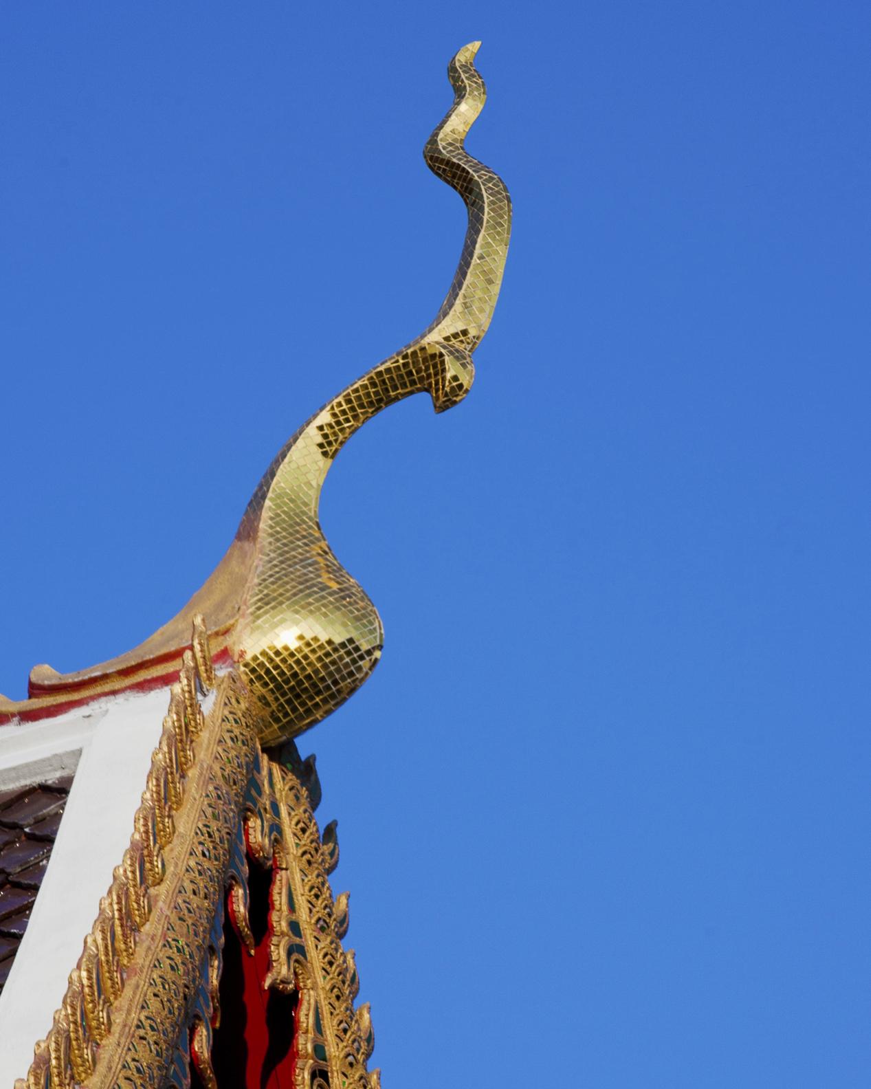 Temple Detail, Thailand