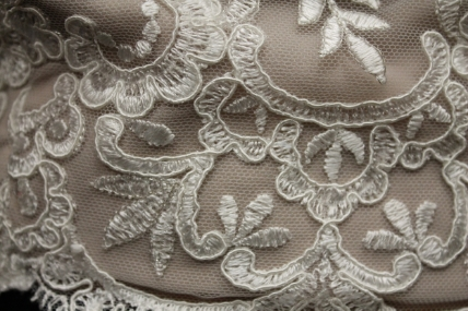 Look at the incredible lace detail on this top!