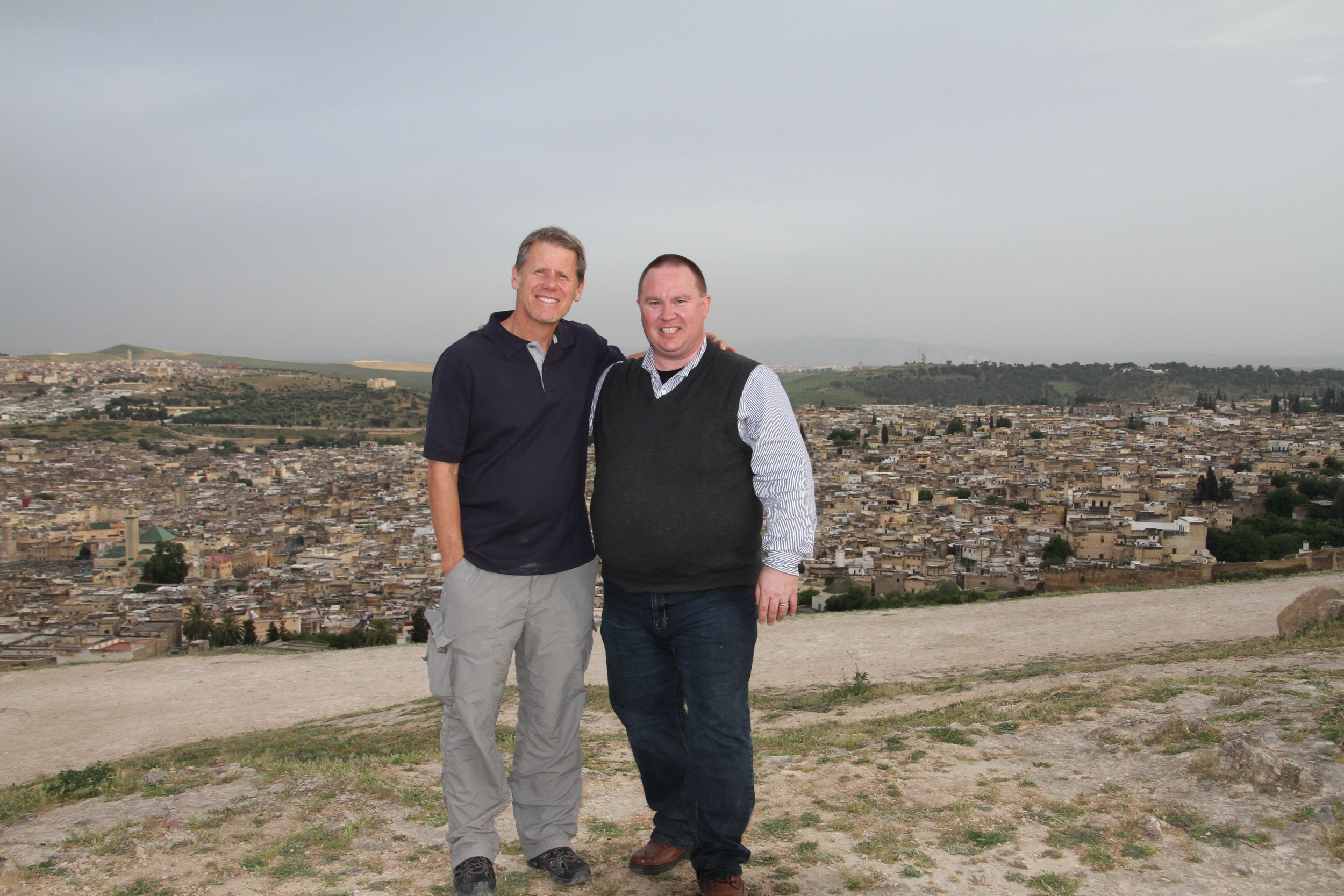 James Smith & Greg Plett - Fes, Morocco