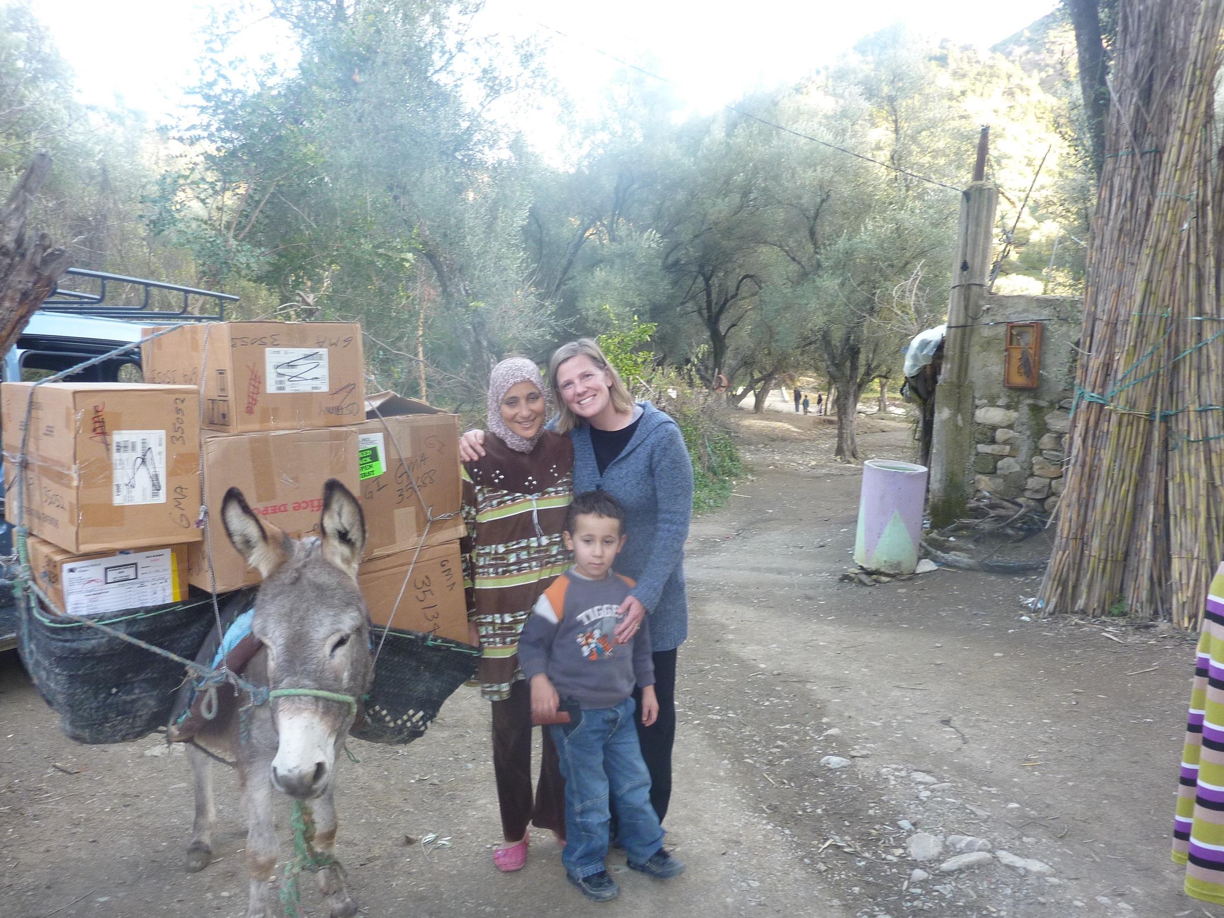 Hayat, Melissa & Donkey.jpg
