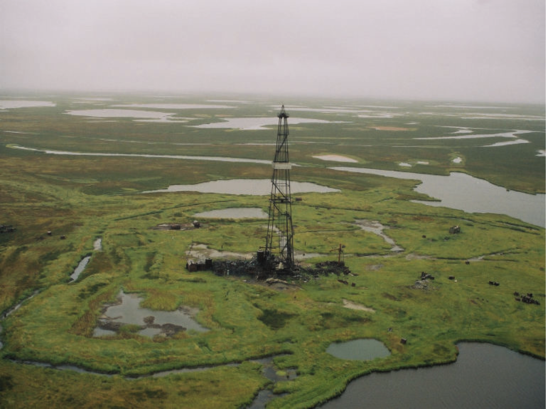 ConocoPhillips Northern Territories Expansion evaluated historical Russian exploration and production sites, with goal of rehabilitation.