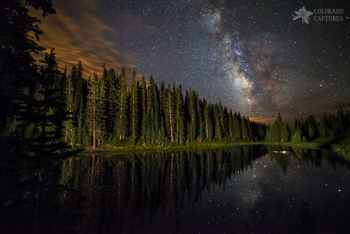 Lake Irene's Milky Way Mirror