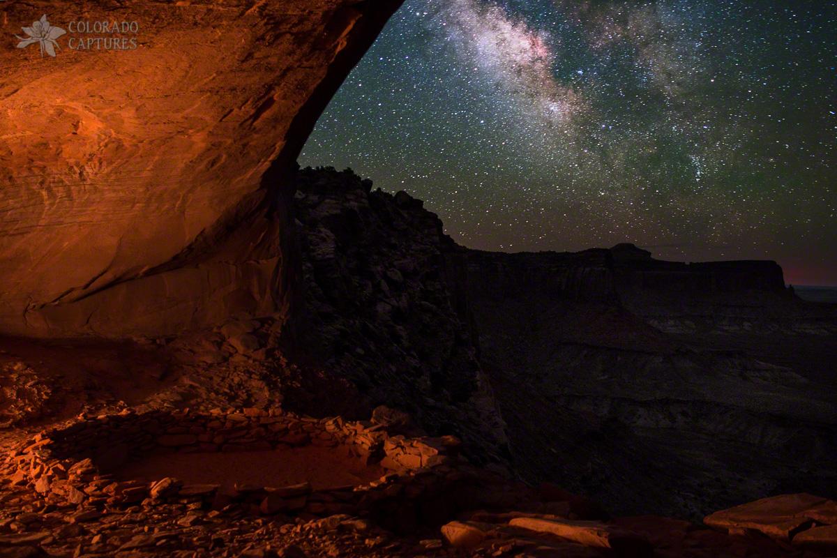 Milky Way Skies From False Kiva