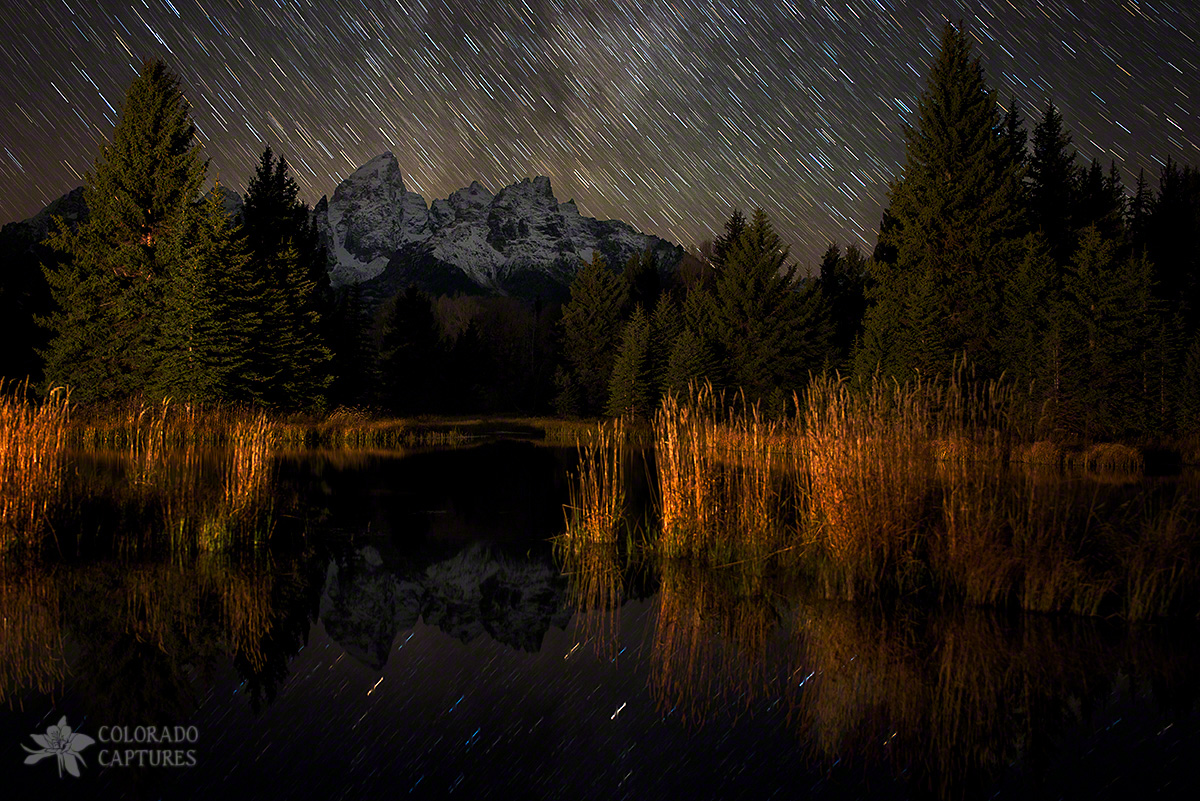 Schwabacher Starry Night - Grand Teton National Park