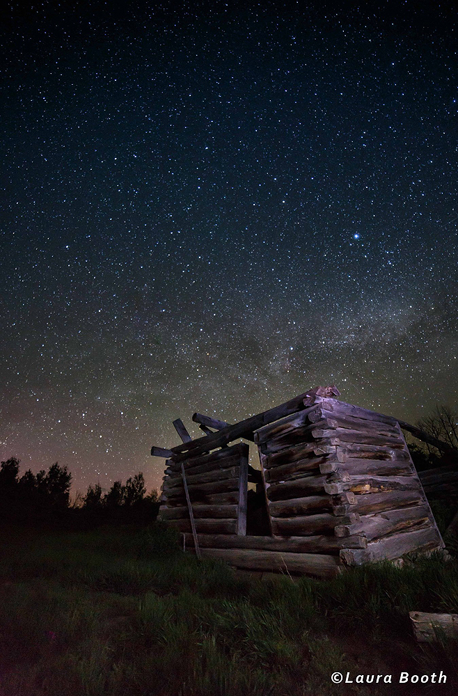 Milky Way Over Shane Cabin