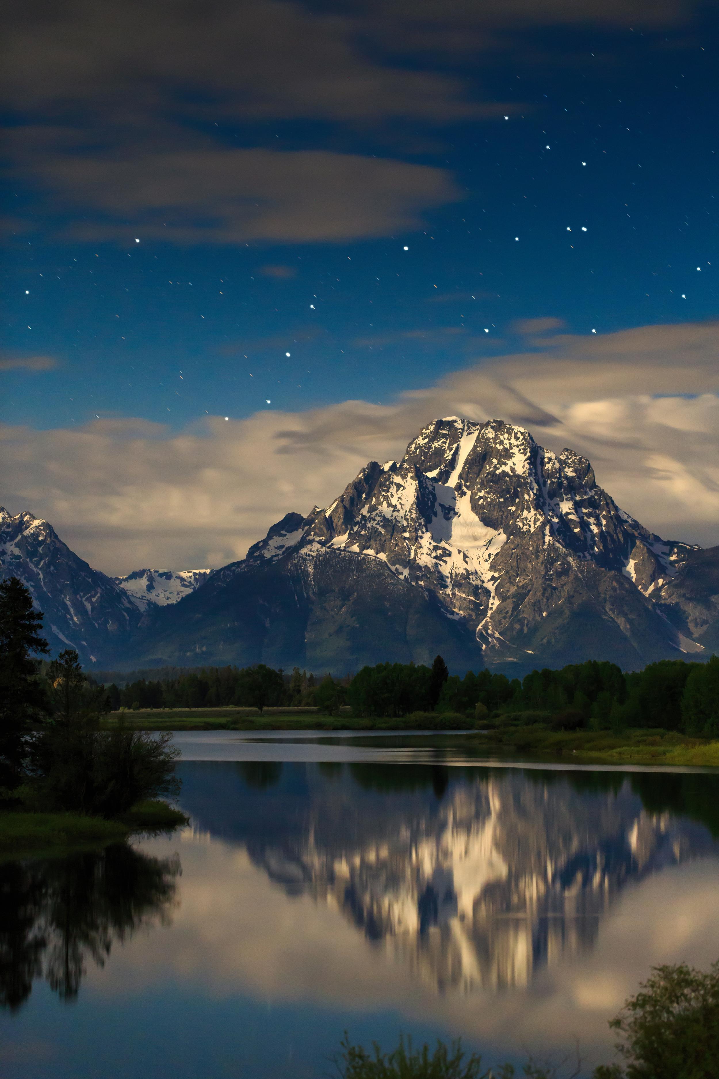 Stars Over Mt. Moran