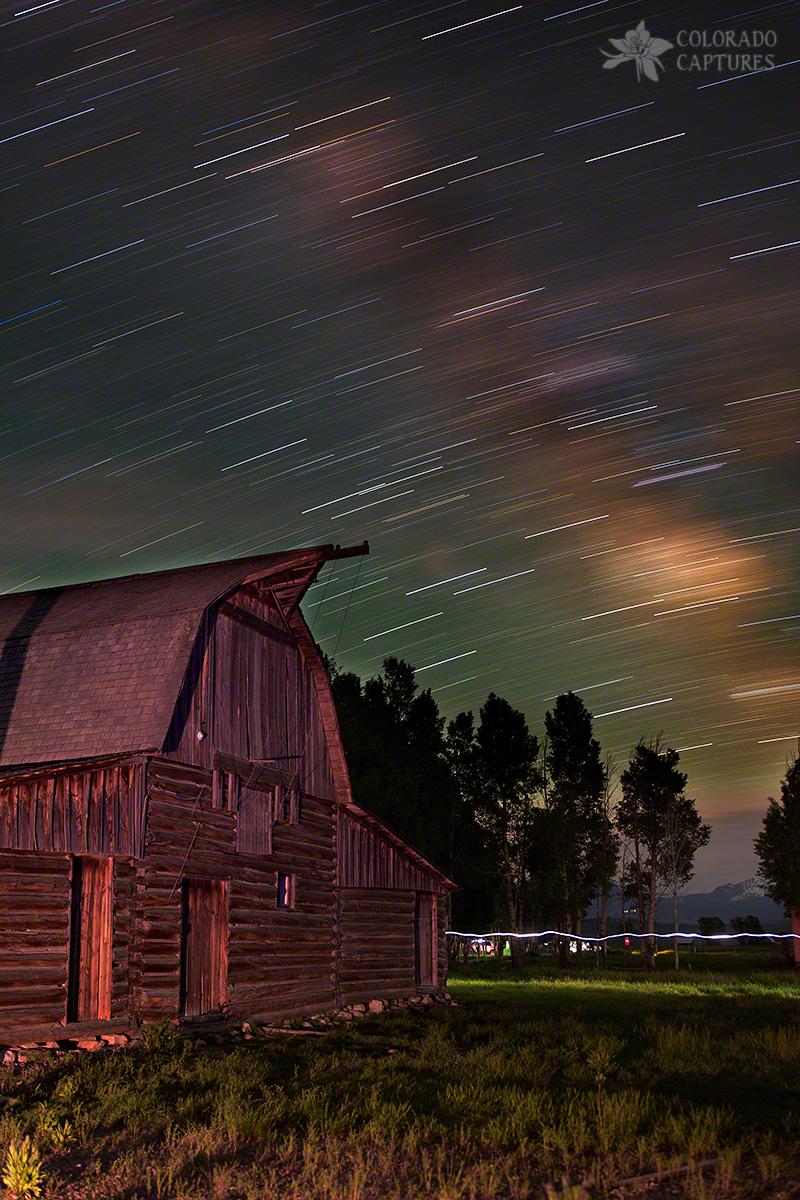 John Moulton Barn in Teton National Park