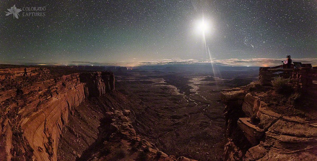 """Buck Canyon By Moonlight"" - Canyonlands National Park, Utah"