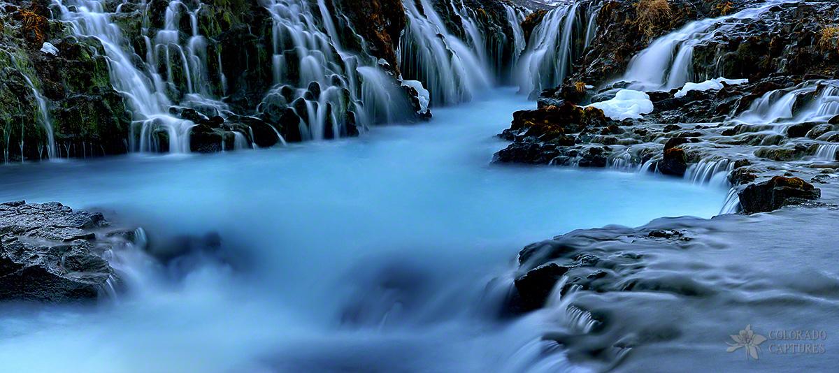 """Waterfall Wonderland"" - Bruarfoss, Iceland"