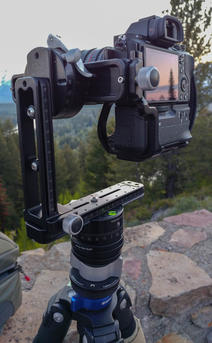 Panoramic Gimbal Head From Really Right Stuff