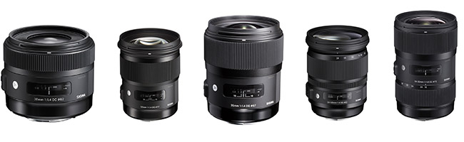 Sigma Art Lenses