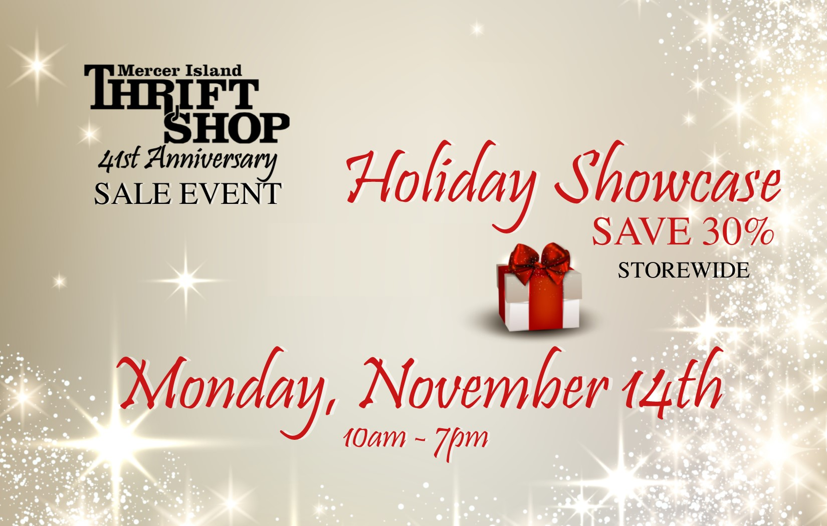 41st Anniversary Holiday Showcase
