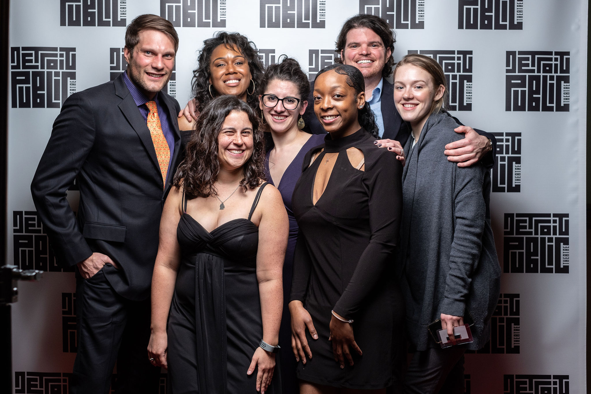 Alumni and facilitators at DPT's 4th Annual Unabashed Ask for Cash Bash. Photo by Chuk Nowak.
