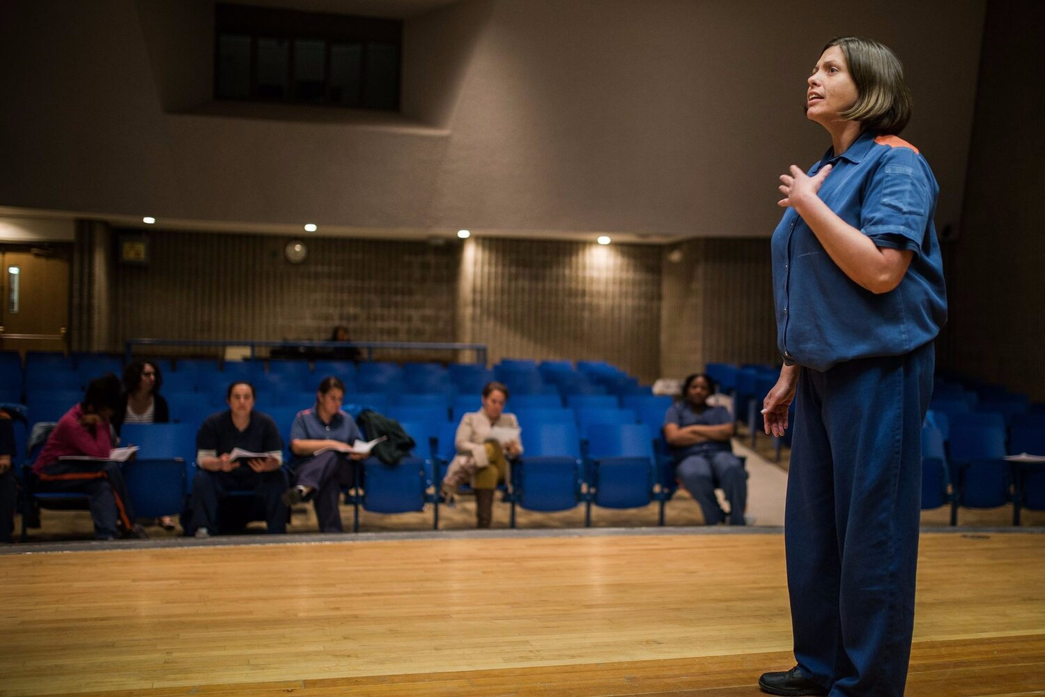 For female inmates, Shakespeare is liberating - Detroit Free Press / Jenn McKeeJune 18, 2016