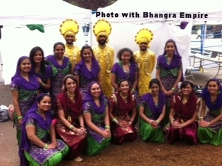 Photograph with Bhangra Empire