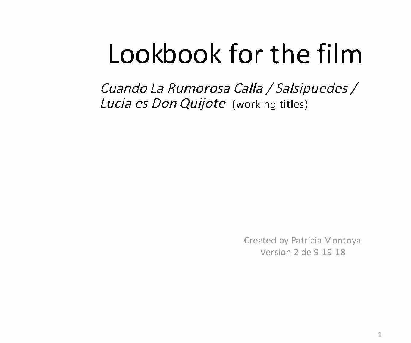 Lookbook  (image scrolls)