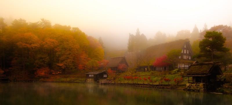 hida folk village - takayama