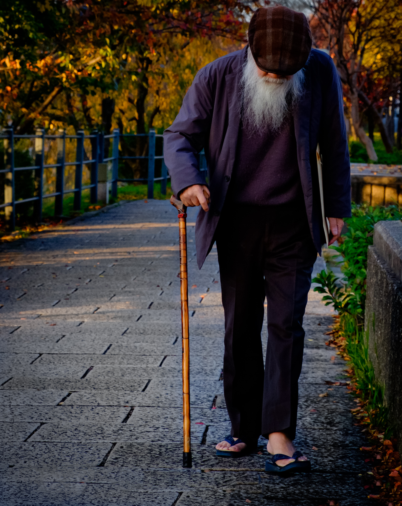 Old Man Kyoto – Fujifilm X-T10 with XF18-55mmF2.8-4 – 55mm – F5.6 – 1/500sec – ISO800