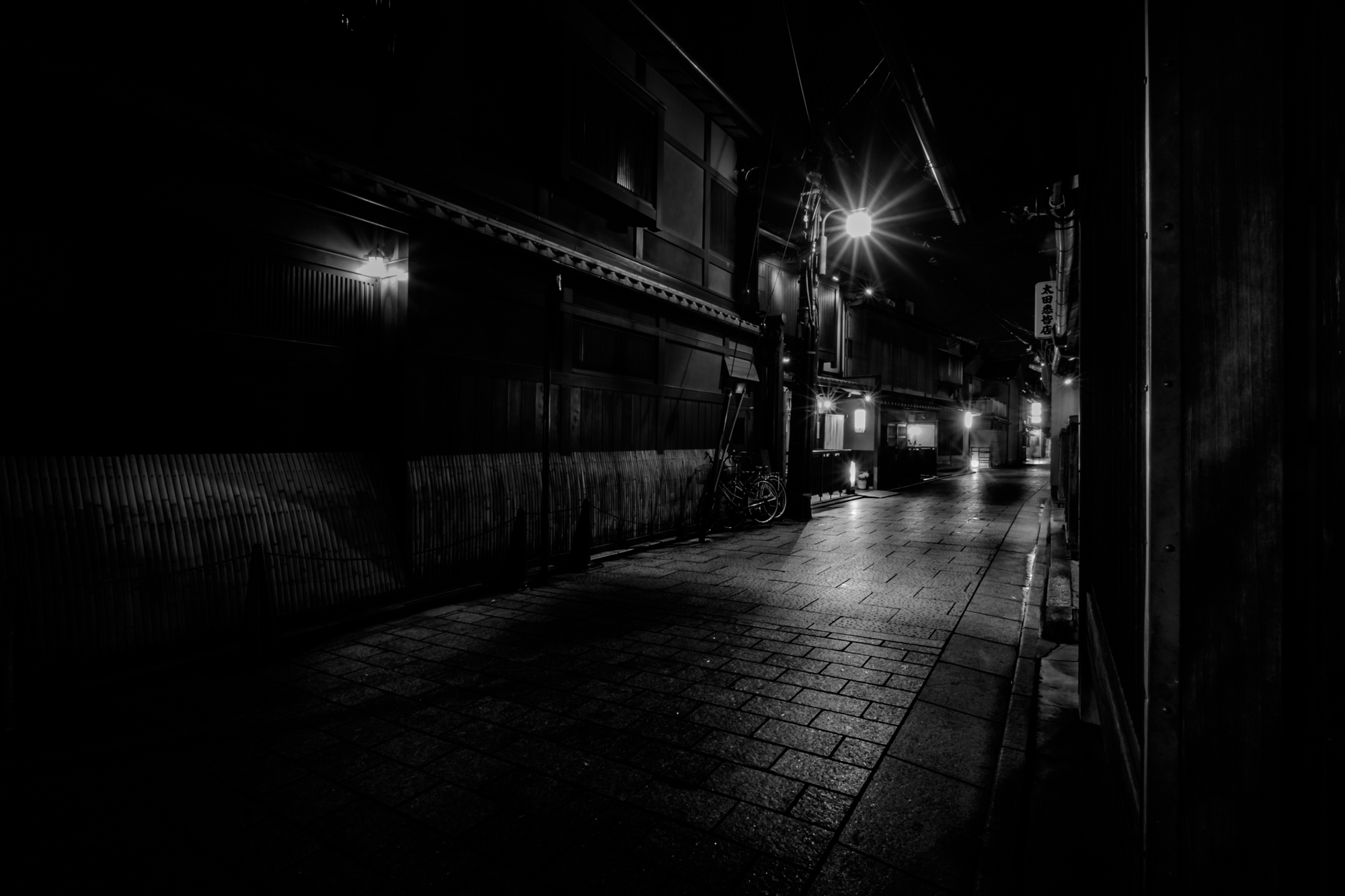 Kyoto Gion District – Fujifilm X-T10 with XF10-24mmF4 – 10mm – F22 – 45sec – ISO200