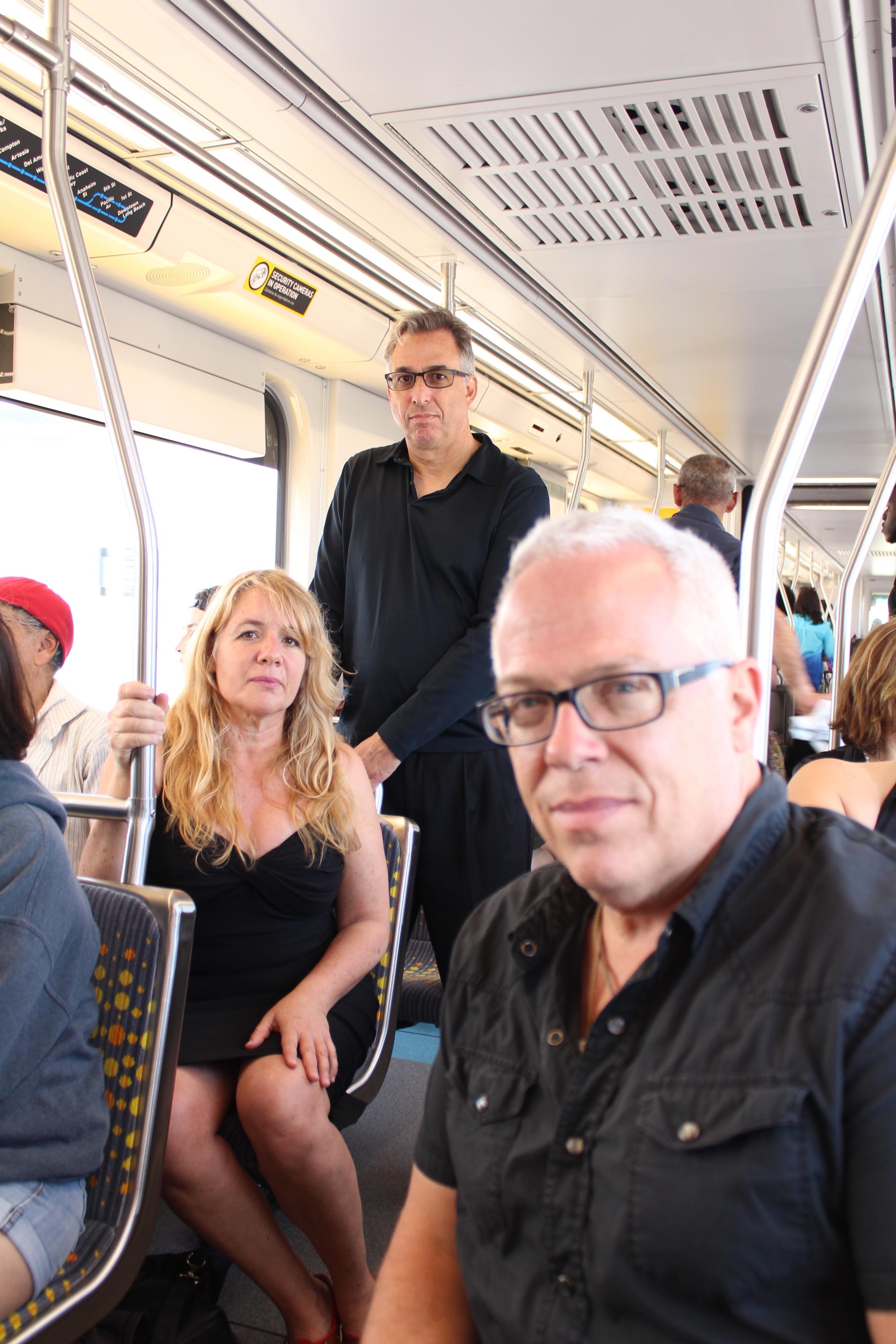 CC directors on train.JPG