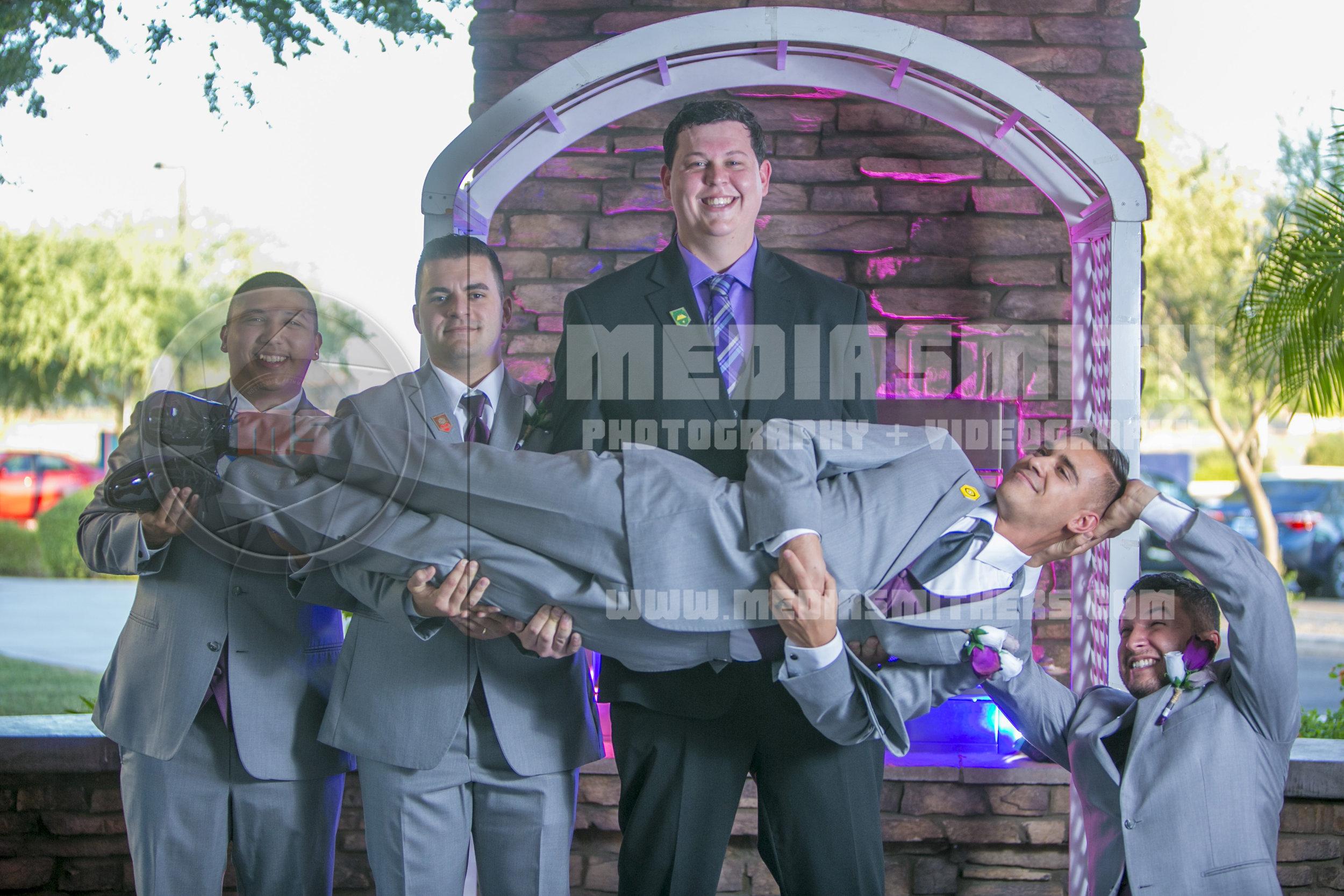 groomsmen wedding photography phoenix arizona
