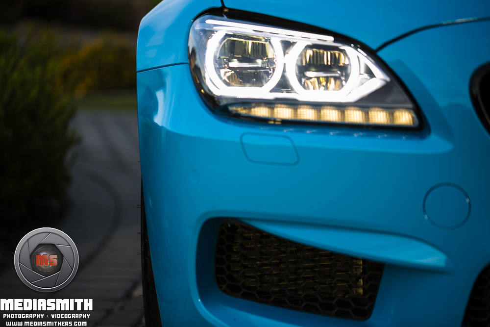 Car_Photography_Gilbert_Arizona_BMW_M6_Passenger_Headlight