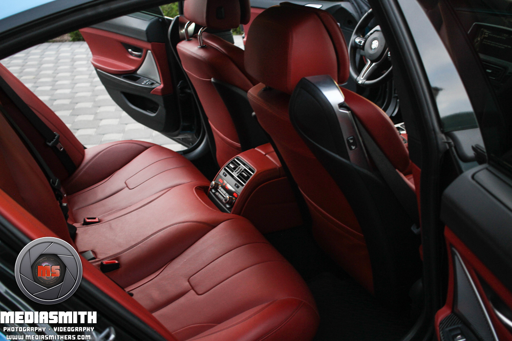 Car_Photography_Gilbert_Arizona_BMW_M6_Back_Seat_Interior