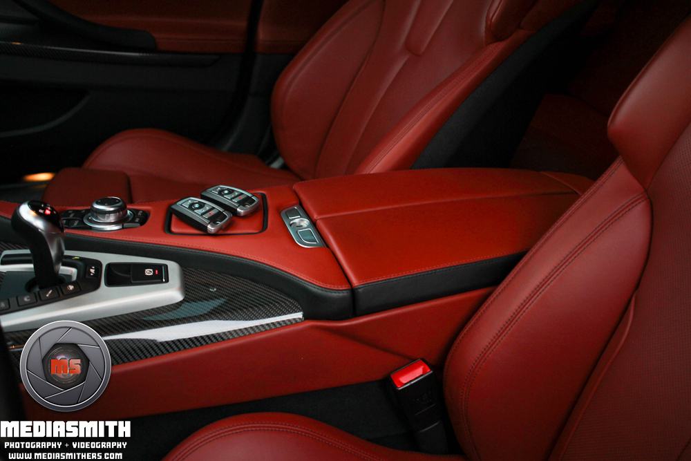 Car_Photography_Gilbert_Arizona_BMW_M6_Interior_Center_Console