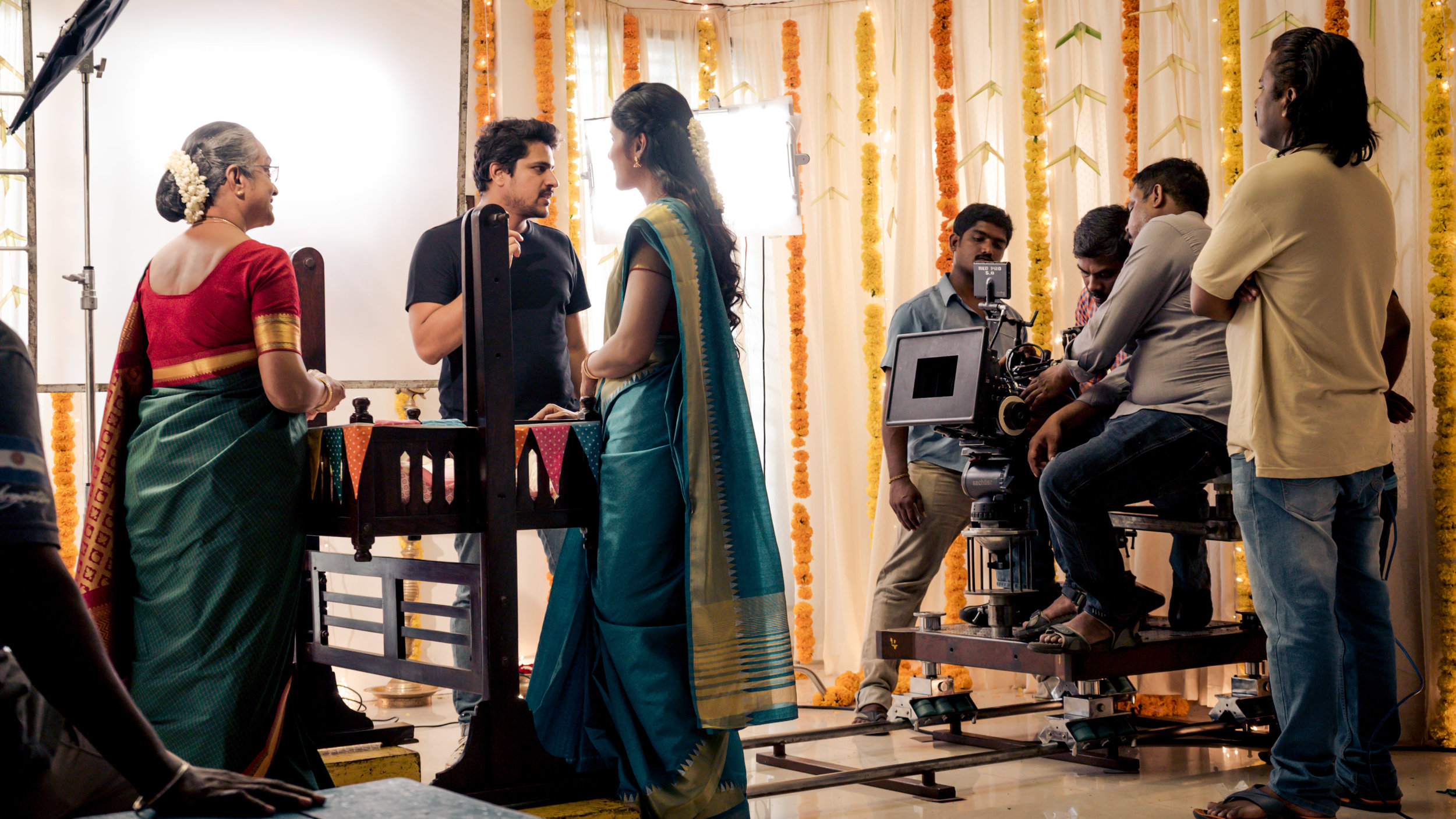 Sahit Anand (our director) is a big fan of camera movements. Especially when it's motivated by an emotion.