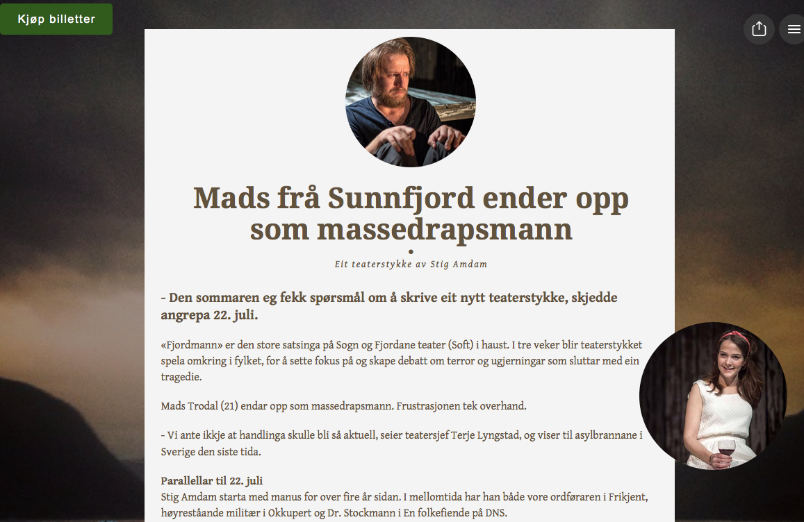 Fjordmann artikkel