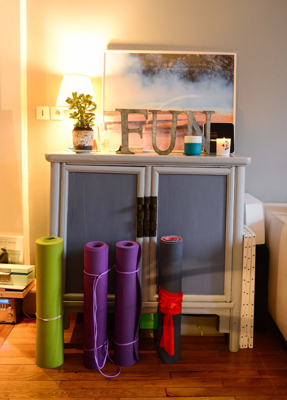 Yoga salon interieur