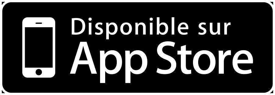 Disponible sur App store.png