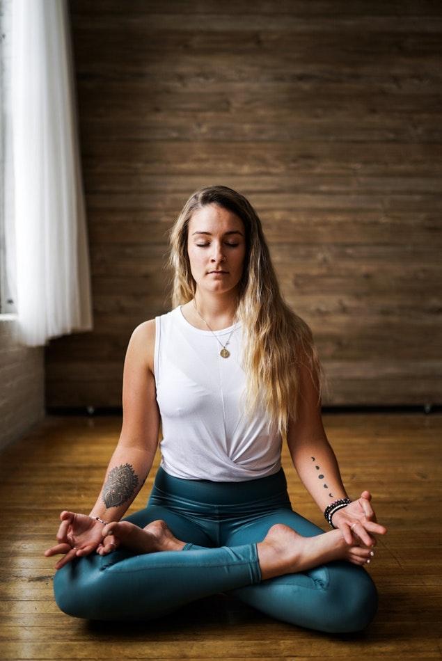 La posture du Lotus