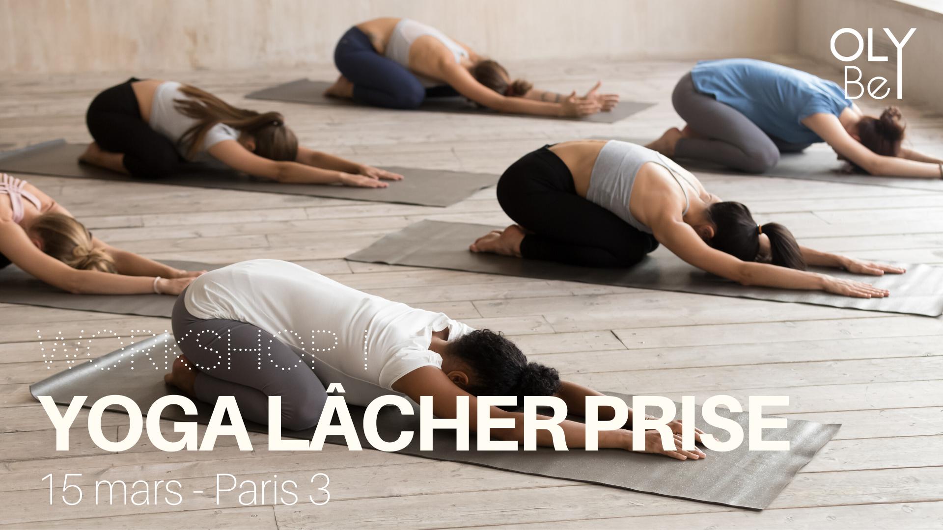 dimanche 15 MARS - De 15h30 à 17h30 chez Yoga Searcher - Paris 3Avec notre professeure certifiée, Valentine.> Infos & Réservations ici !